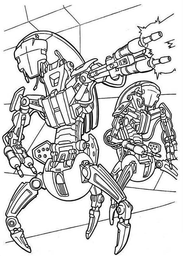 Star Wars Clone Wars Coloring Pages - Learny Kids