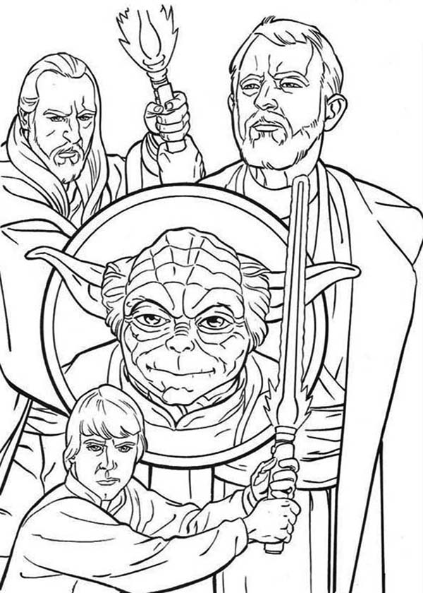 star wars character coloring pages - photo#35