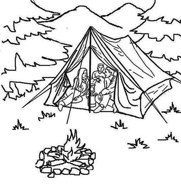 Summer Vacation At Summer Camp