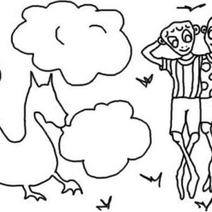 Summertime Dream Coloring Page