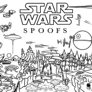 The Star Wars Picture Coloring Page