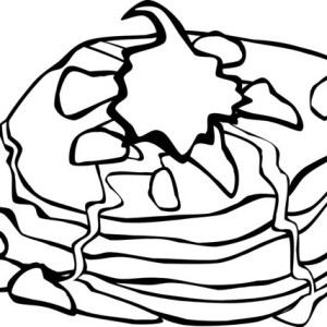 Mexican Food Junk Food Coloring Page