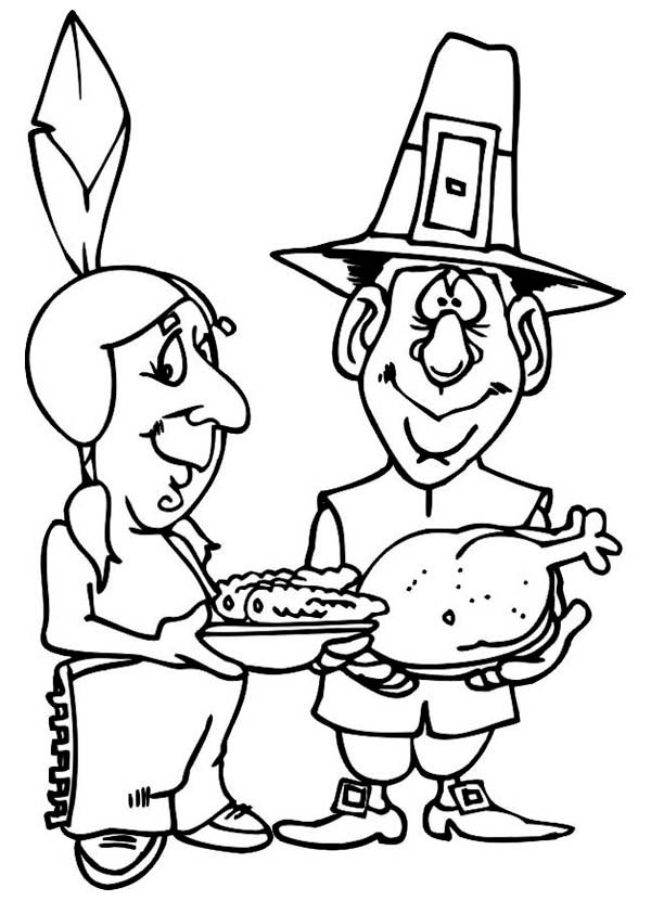 Sharing Food On Canada Thanksgiving Day Celebration ...