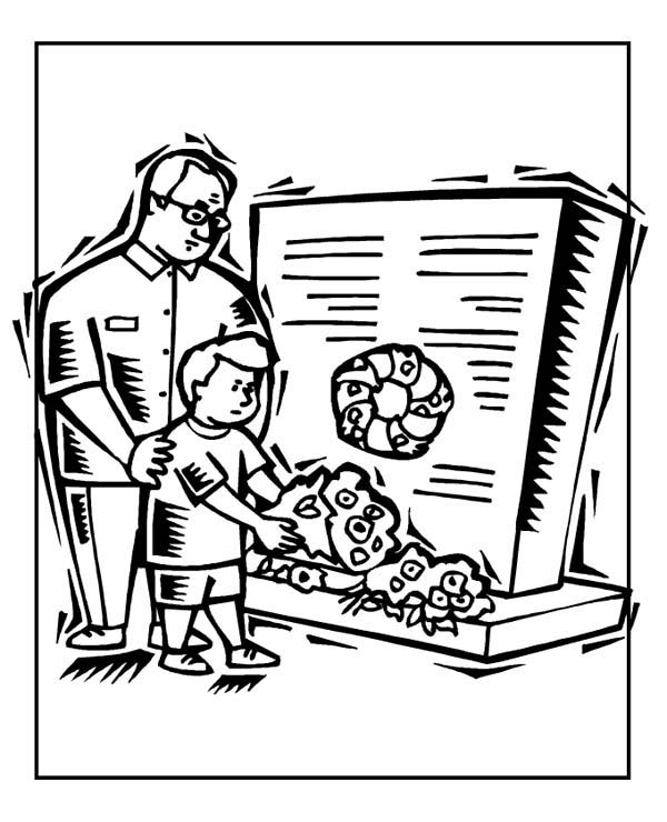 Veterans Day Thank You Coloring Page - GetColoringPages.com | 740x600