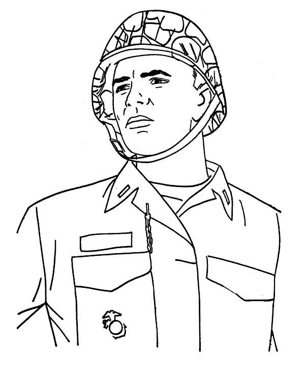 army men fighting coloring pages - photo#28