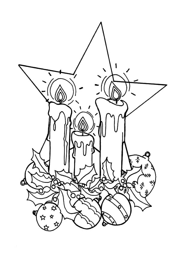 Christmas Star Coloring Page - Free Coloring Pages Online | 840x600
