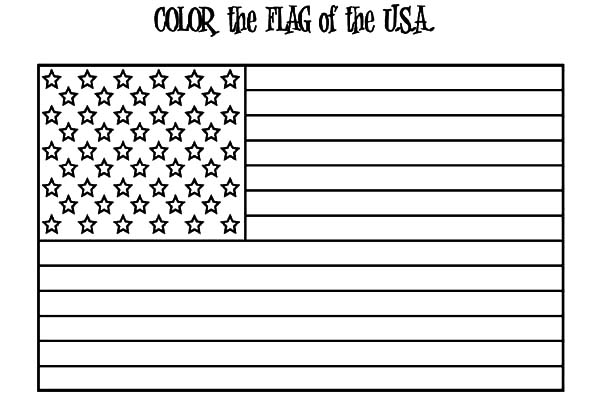 American Flag For Independence Day Coloring Pages - Download & Print Online Coloring  Pages For Free Color Nimbus