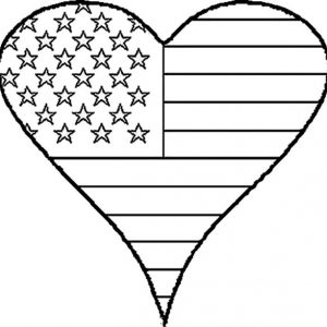 4th Of July Flag Day Coloring Pages