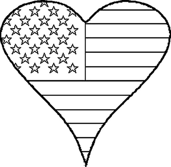4th Of July Flag Day Coloring Pages - Download & Print Online Coloring Pages  For Free Color Nimbus