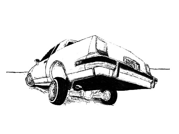 Lowrider Coloring Sheets | Coloring Pages