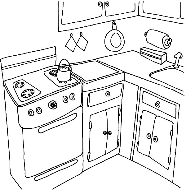 Thanksgiving Dinner Coloring Pages - GetColoringPages.com | 611x600