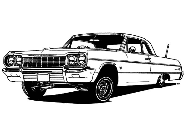 lowrider coloring pages Car Lower To Ground Clearance Lowrider Cars Coloring Pages  lowrider coloring pages