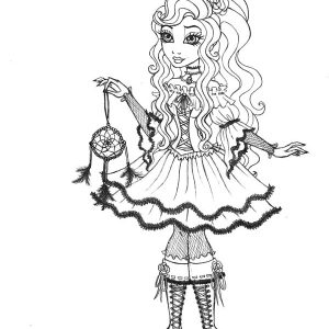 Cynthia Happily Ever After High Coloring Pages