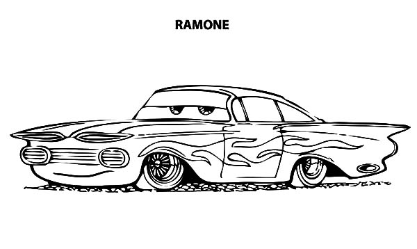 - Disney Cars Ramone Lowrider Cars Coloring Pages - Download & Print Online Coloring  Pages For Free Color Nimbus