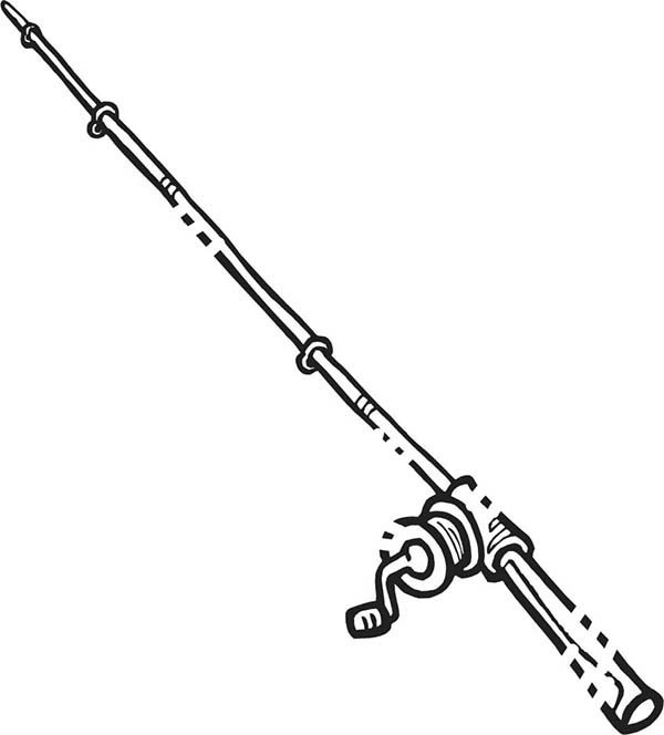 Free fishing pole coloring pages ~ Drawing Fishing Pole Coloring Pages - Download & Print ...