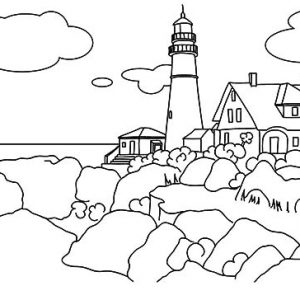 Basic RGB Coloring Page