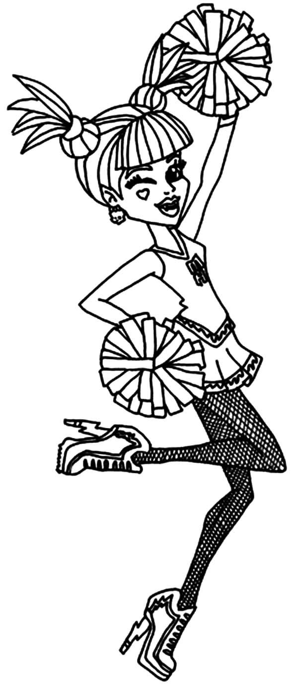 - Ever After High Cheerleader Coloring Pages - Download & Print