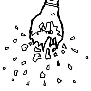 Exploding Electric Light Bulb Coloring Pages