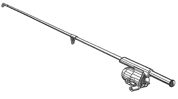 Free fishing pole coloring pages ~ Fishing Pole Coloring Pages - Download & Print Online ...