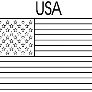 Flag Day Coloring Pages For Kids