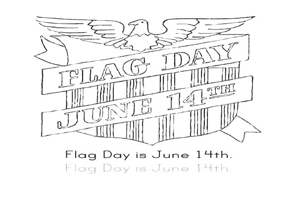 flag day coloring pages Flag Day June 14th Coloring Pages   Download & Print Online  flag day coloring pages
