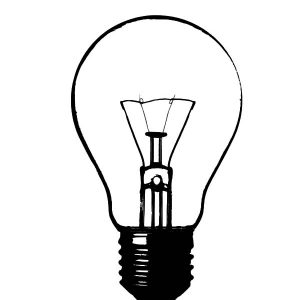 How To Draw Light Bulb Coloring Pages