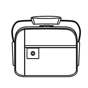 How To Draw Lunchbox Coloring Pages