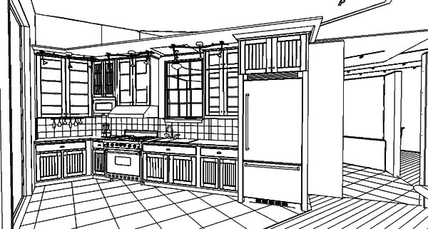 Kitchen Design Interior Coloring Pages Download Print Online Rhcolornimbus: House Design Coloring Pages At Baymontmadison.com