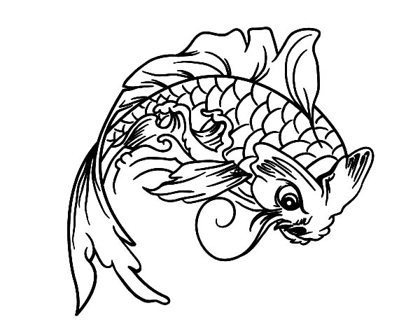 koi coloring pages | Download Online Coloring Pages for Free - Part 32