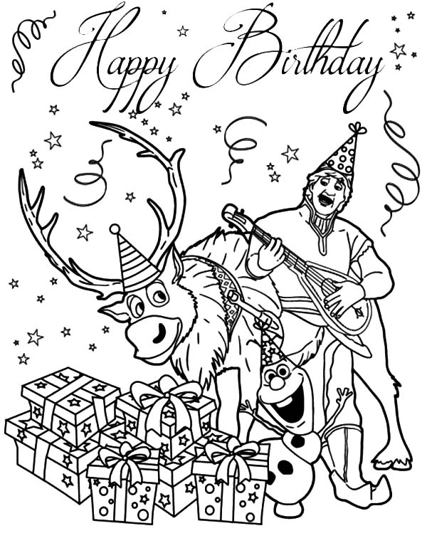 free coloring pages birthday cards – ourwayofpassion.com | 777x600