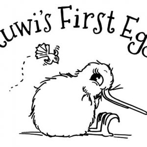 Kuwi First Egg Kiwi Bird Coloring Pages