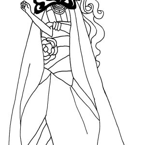 Legacy Day Briar Ever After High Coloring Pages