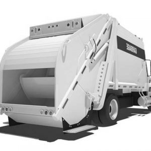 Modern Garbage Truck Coloring Pages