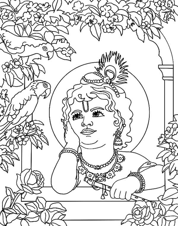 Shri Krishna Janmashtami Hear Bird