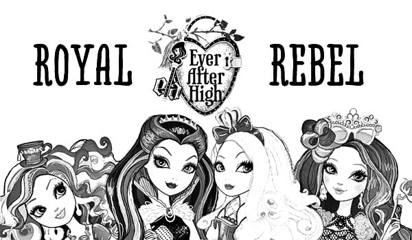 The Royal Rebel Ever After High Coloring Pages Download Print