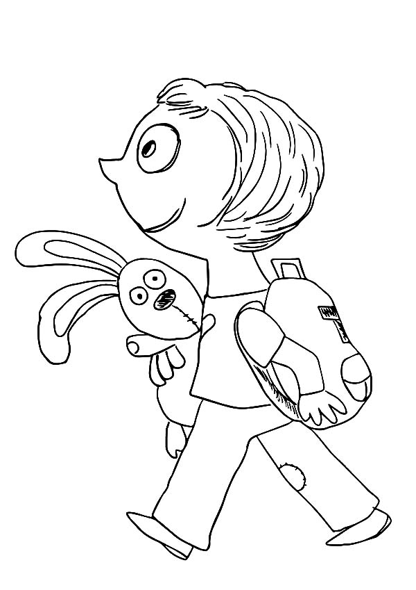 Trixie Take Her Knuffle Bunny To School Coloring Pages Download Rhcolornimbus: Knuffle Bunny Coloring Pages At Baymontmadison.com