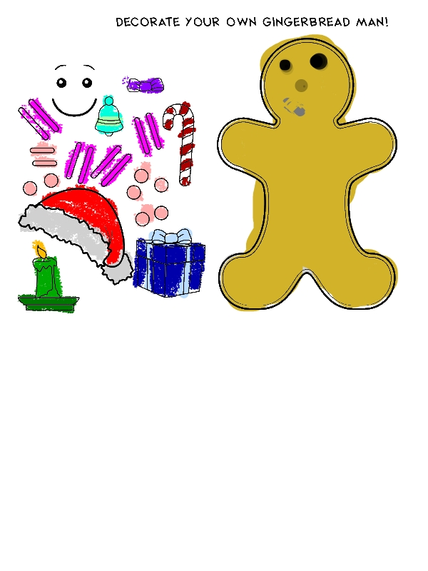 Decorate Your Own Mr Gingerbread