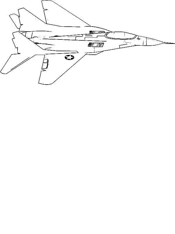 F18 Jet Fighter Coloring Page Download Amp Print Online