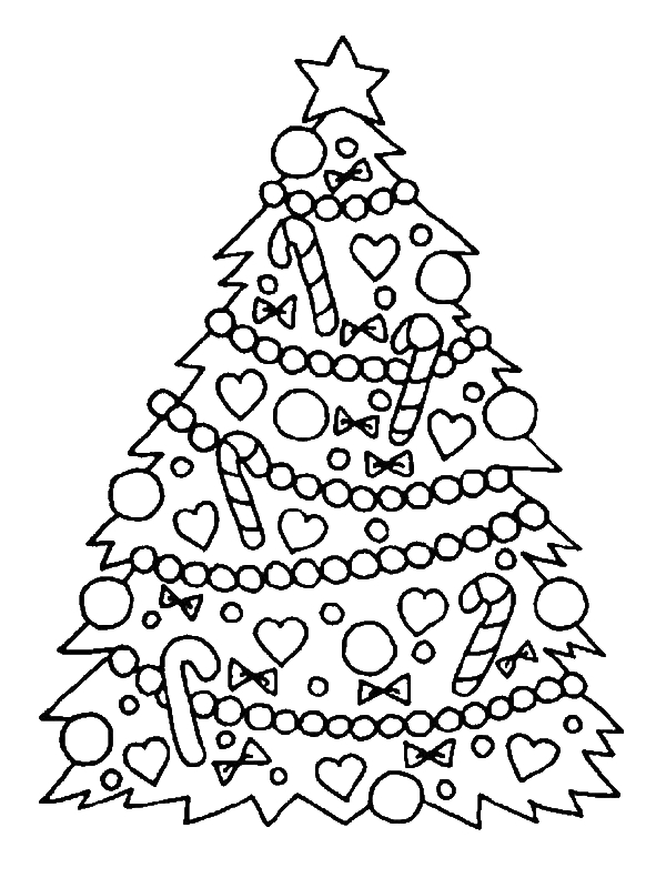 Christmas Coloring Pages For 10