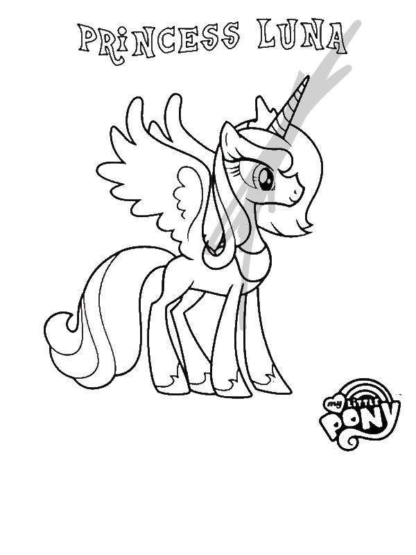 Princess Luna In My Little Pony