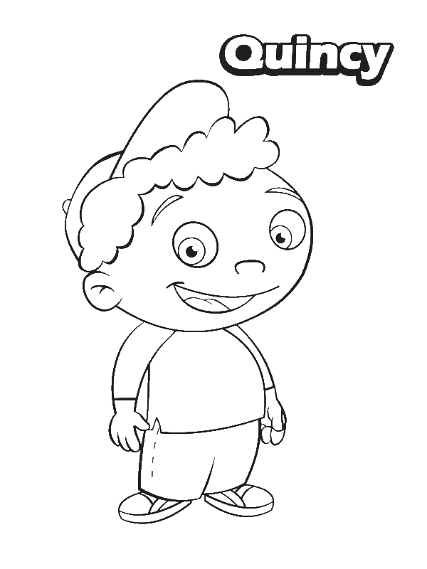 Quincy From Little Einsteins Coloring Page Download