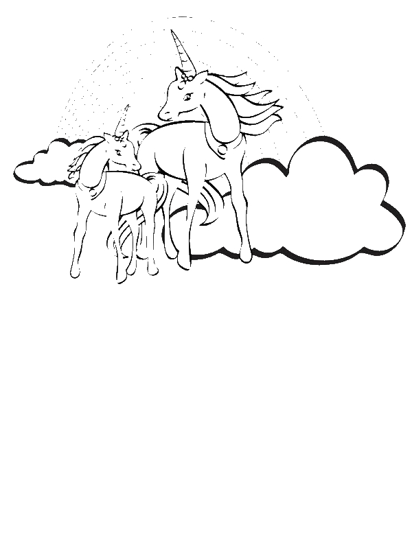 rainbow coloring pages 10 rows - photo#25